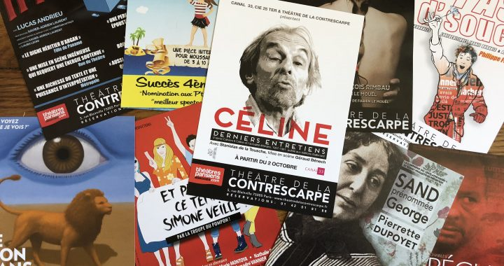 [EVENEMENT] Présentation de la saison au théâtre de la Contrescarpe